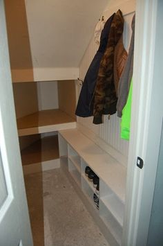 Under Stairs Cupboard Storage, Under Stairs Nook, Under Stairs Pantry, Porch Storage, Staircase Storage, Stair Storage, Closet Storage, Understairs Cupboard Ideas, Understairs Closet