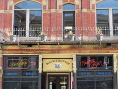 The Bounty Hunter Restaurant and Wine Bar in downtown Napa, California