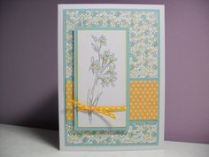 Handmade Sympathy/Get Well Soon Card