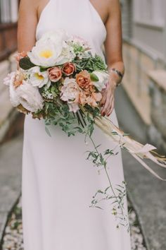 blush-toned wedding