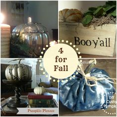 Decor & More: Four DIYs for Fall