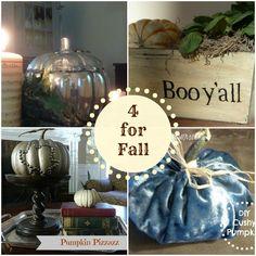 Decor & More: Four DIYs for Fall