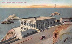 CLIFF HOUSE San Francisco, California Vintage Postcard ca 1910s