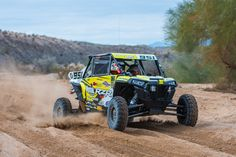 Team RZR kept the winning momentum going at the first Best in the Desert (BITD) race of 2017, the UTV Winter Nationals in Parker, Ariz. Cool, wet weather made for a fast course, devoid of the typical desert dust, and Polaris Factory racers came out of the gate gunning for the lead.