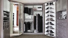 An innovative new way to have an exceptionally organized and high tech closet.