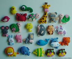 фетр игрушки буквы - Пошук Google