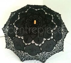 Parasol Lace Black