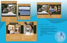 Real Estate Brochure Mars Project, Million Dollar Homes, Inside Home, For Sale Sign, Light Design, Video Editing, Monte Carlo, Layout Design, Villa