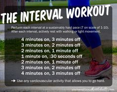 This quick yet intense interval workout can do done at home with little to no cost. It's a fantastic exercise for your whole body.