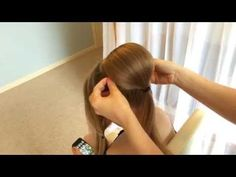Cinderella Hair - 2 Methods of Creating a Chignon by Sweethearts Hair Design - YouTube
