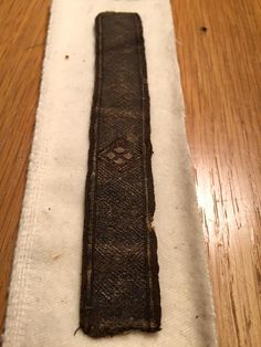 tablet woven band in silk and silver. Dating most likely 14th century. Now in the collection of The Historical Museum, Sweden.