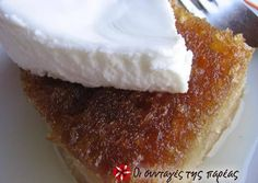 The authentic Politiko Ekmek Recipe by Cookpad Greece Greek Sweets, Greek Desserts, Party Desserts, Greek Recipes, No Bake Desserts, Homemade Sweets, Greek Cooking, Greek Dishes, Gourmet