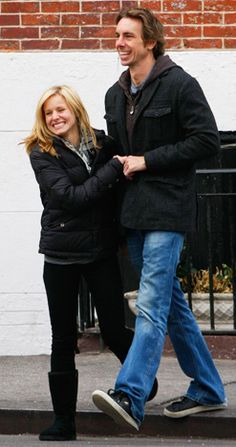 Kristen Bell and Dax Shepard. I just think these two are the most ADORABLE couple.