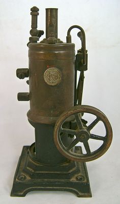 Early Toy Steam Engine