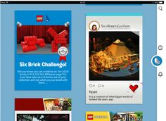 Lego's new social network for kids uses Lego emoji to communicate     - CNET Kids and social networks arent exactly a happy marriage. In fact most parents I know shield their kids under 13 from being connected much at all.  What if there was a magic world where kids could share Lego ideas and building suggestions and safely collaborate on new projects like Minecraft? What if kids could end up forming an ever-evolving living database on new Lego ideas?  Lego Life launching today isnt that…