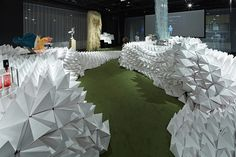 MonsterScape booth by Hannat Architects, Tokyo – Japan »  Retail Design Blog