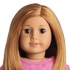 Just Like You #35 was released in 2009. Features Classic Face Mold with light skin tone. She has Red, layered hair with a side part and no bangs. Her Eyes are BROWN
