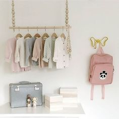 Decor inspiration for baby/ toddler room Baby Bedroom, Baby Room Decor, Nursery Room, Girl Nursery, Kids Bedroom, Deer Nursery, Little Girl Rooms, Nursery Inspiration, Kidsroom