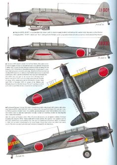 "Nakajima""kate"" Japanese ""97 kanko "">>Zero Fighter"