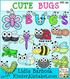 Kinder Alphabet: I LOVE these little bugs!!