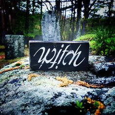 witchwitch signwitch decorsalem witchwiccanwiccahalloweenhalloween decorhalloween sign by on etsy - Rustic Halloween Decorations