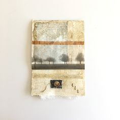 Original collage mixed media on watercolor paper unframed ready to frame art small art art as gift contemporary art tree art Asian Mixed Media Art, Mixed Media Collage, Collage Artwork, Tea Bag Art, Tea Art, Abstract Drawings, Landscape Drawings, Encaustic Art, Small Art