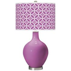 Radiant Orchid Lamp #HomeStyle