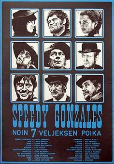 Speedy Gonzales: The Son of About 7 Brothers See Movie, My Fb, Finland, Norway, Film, Shirt Ideas, 1970s, Movies, Movie Posters