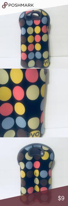 6c5fd76f6 BYO Neoprene Polka Dot Double Wine Bag BYO Polka Dot Double Wine Bottle  Bag. Made