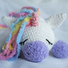Amigurumi pony unicorn crochet pattern free