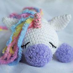 Amigurumi pony unicorn crochet patrón gratis