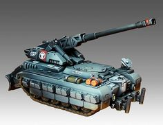 South - Ostrogoth self-propelled artillery - Heavy Gear Blitz - Dream Pod 9