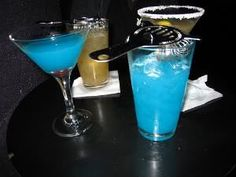 Coquetel mar azul