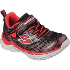 promo code 27004 cb93e Boys  Skechers Rive Sneaker  Red Foams Sneakers, Fabric Shoes, School Shoes,