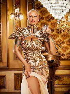 Amber rose amazing dress