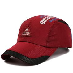 a1c73c0b015 Men Women Ultra-thin Breathable Quick-drying Baseball Cap