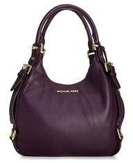 $348.00 MICHAEL Michael Kors Handbag ... MK and purple? I die.