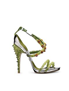 Gianluca Tamburini 'Poisoneuse' Sandal #ArtShoes to dream of #ShoeArt to diy for #Shoes #Tamburini #Traumschuhe