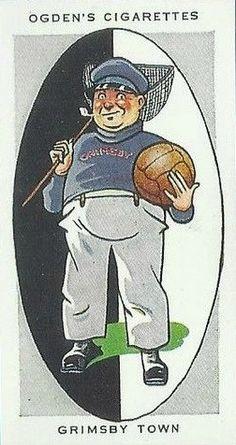 """1933 Ogden's cigarette cards """"A.F.C.NICKNAMES""""."""
