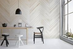 Stylish, pre-finished sustainable timber boards for your walls - The Interiors Addict Timber Wall Panels, Timber Walls, Timber Panelling, Wall Panelling, White Wood Walls, Timber Cladding, Wooden Walls, Wood Paneling, Interior Walls