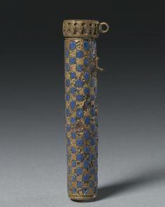 Kohl Tube, 305 BC-AD 395                                                Egypt, Ptolemaic Dynasty to Roman Empire