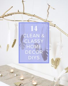 DIY #modern home #decor we're in love with