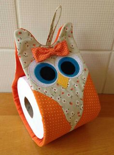 This really would top off the owl collection baby xxxxxxxxxx Owl Crafts, Diy And Crafts, Owl Patterns, Sewing Patterns, Fabric Crafts, Sewing Crafts, Craft Projects, Sewing Projects, Diy Couture