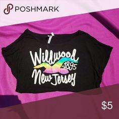 Wildwood New Jersey Crop Top Only worn once. Like New. Size Medium. Tops Crop Tops
