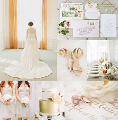 <p>This sweet and soft color palette is inspired by the upcoming dawn of spring. The palest of sage green and peach pairs perfectly with a rosy copper for a romantic color story. Minimalist and modern decor reign, including air plants and a sleek cake, but flowing fabrics and floral stationery keep things light and feminine. We adore the pretty end …</p>