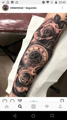 Logan Forarm Tattoos, Forearm Sleeve Tattoos, Best Sleeve Tattoos, Tattoo Sleeve Designs, Life Tattoos, Body Art Tattoos, Cool Tattoos, Lion Head Tattoos, Rose Tattoos For Men