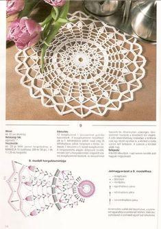 Captivating Crochet a Bodycon Dress Top Ideas. Dazzling Crochet a Bodycon Dress Top Ideas. Crochet Doily Diagram, Crochet Doily Patterns, Thread Crochet, Crochet Scarves, Diy Crochet, Crochet Stitches, Crochet Blouse, Crochet Round, Crochet Dollies