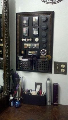 make-your-own-magnetic-makeup-board-cheap-frame