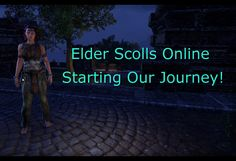 I know it's been awhile, but here's another Let's Play! I play Elder Scrolls Online and make my way about Tamriel! Enjoy the video!