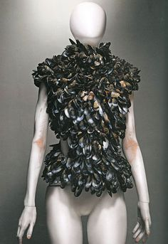 "ALEXANDER McQUEEN Dress ""Alexander-McQueen: Savage Beauty"" at the Met by Winter Phoenix, via Flickr"